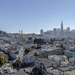View of Russian Hill/North Beach from 2140 Taylor Apartments
