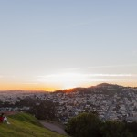 Outer Mission District seen from Bernal Heights