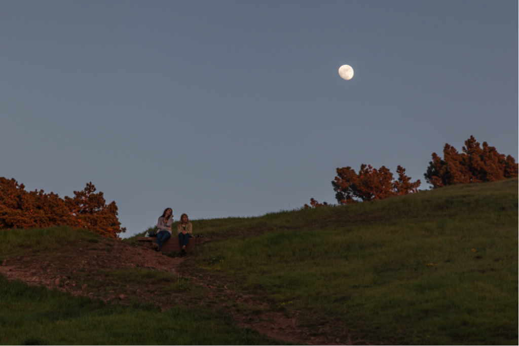 There are so many parks to choose from whether you're out for a hike or watching the moon rise. Photo by Martin Totland