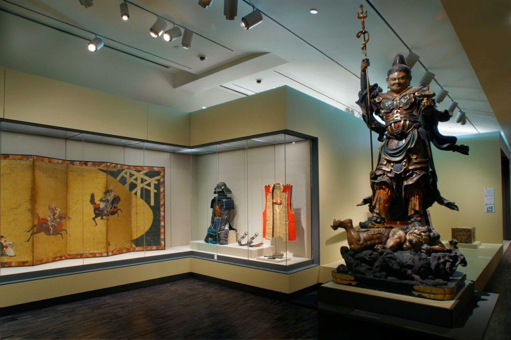 treasures in the Japan Gallery