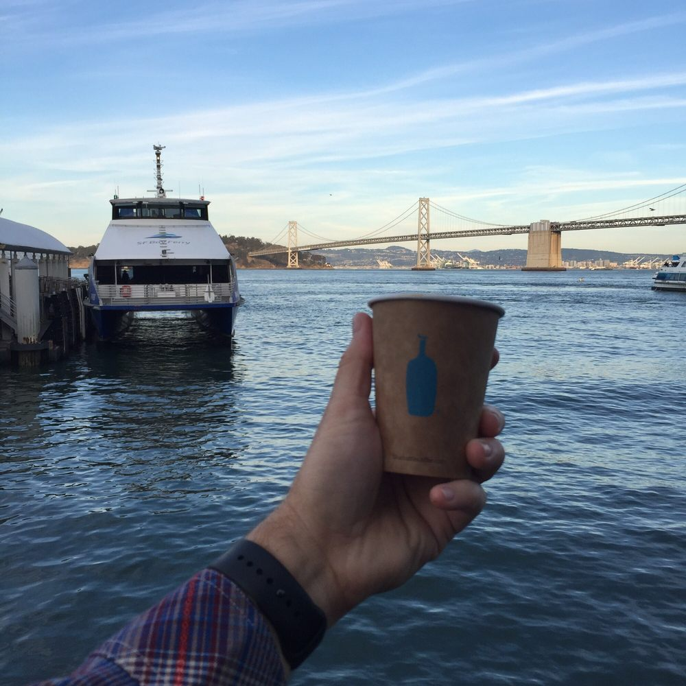 blue bottle coffee at ferry building