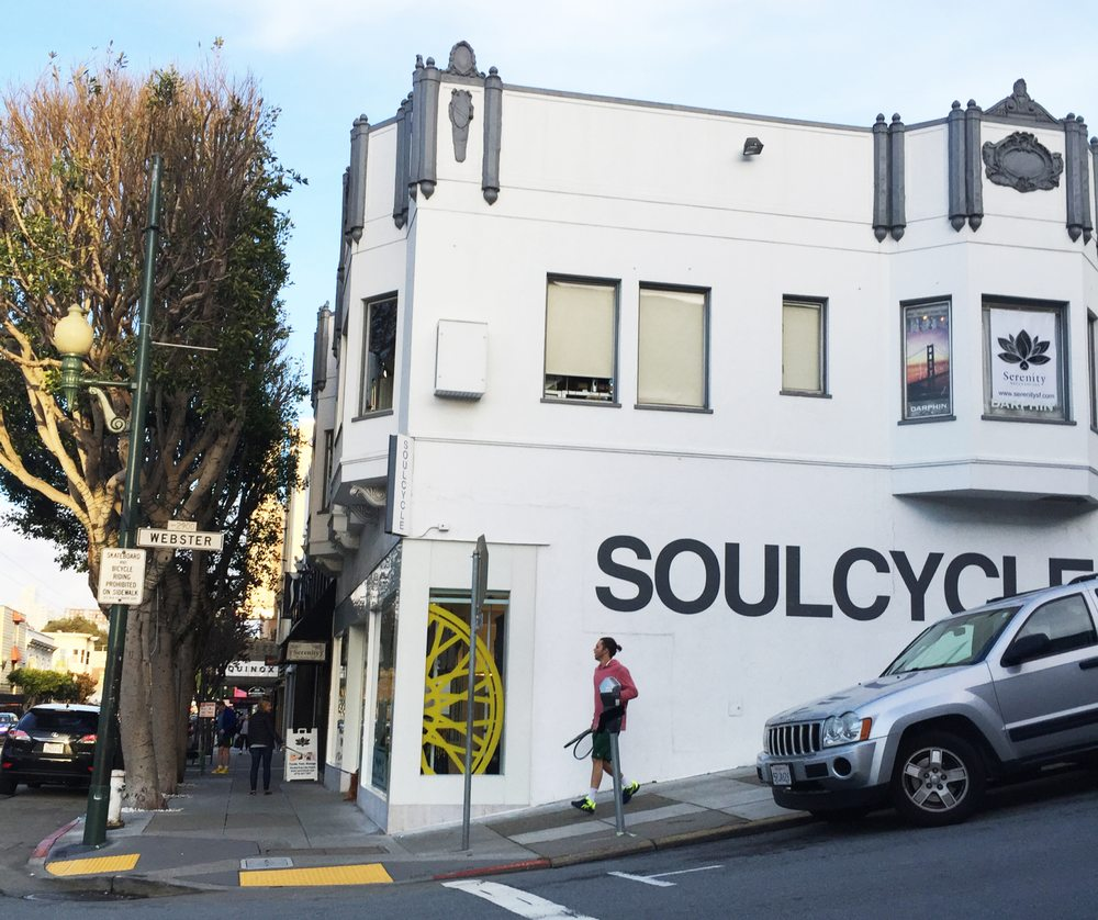 soulcycle on union street