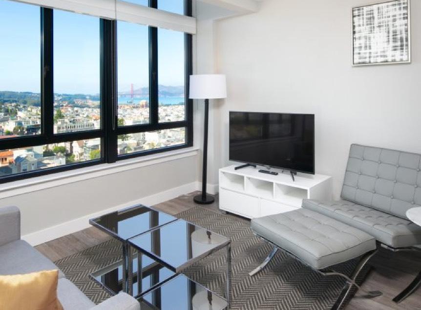 Apartment TV Room