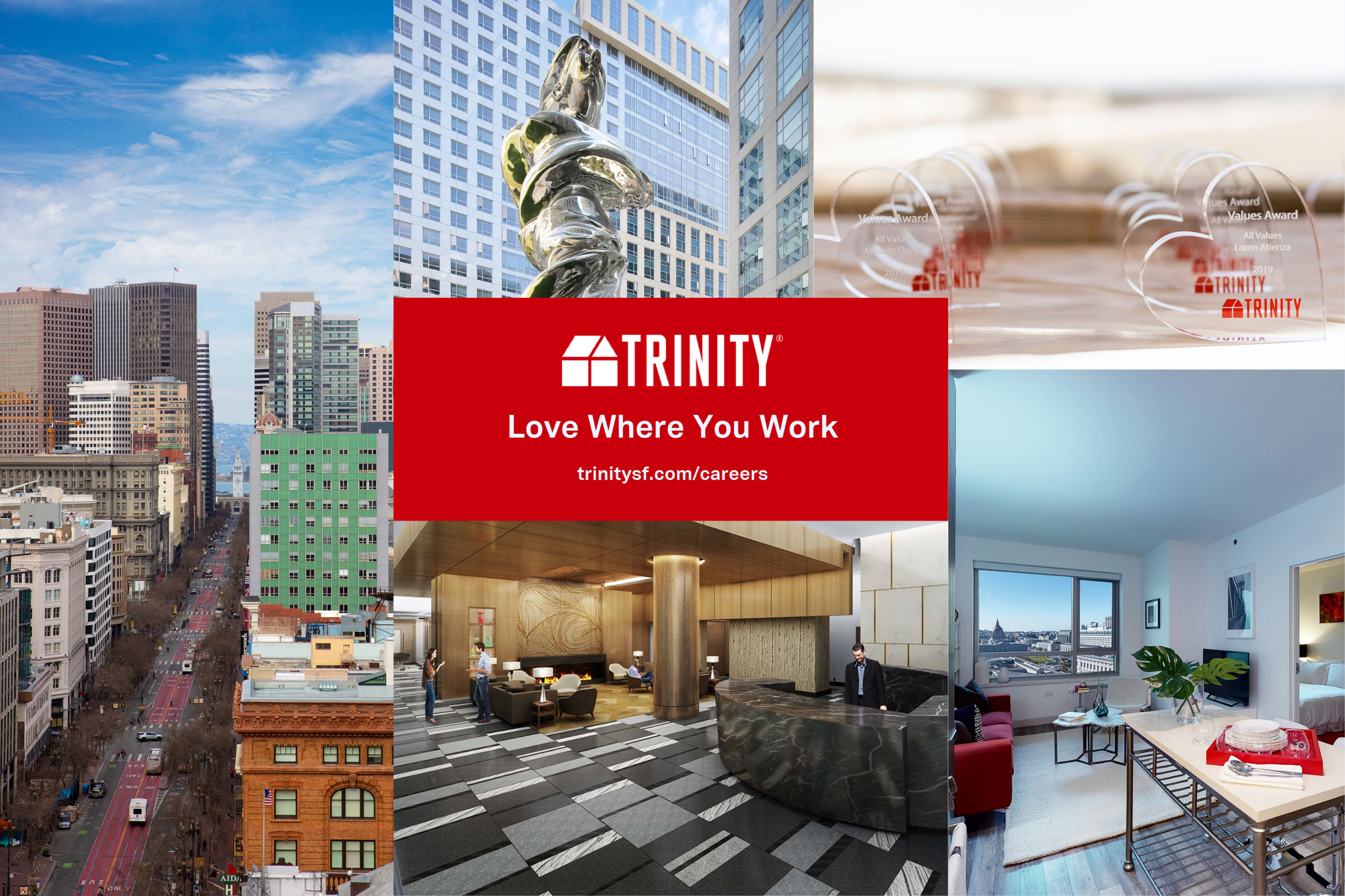 Visit trinitysf.com/careers to see all currently available roles